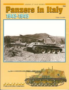 Livre - Revue Panzers in Italy 1943-1945 - Armor At War 7023