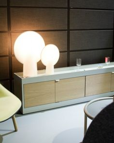 New Order hylly ja Pion valaisin, HAY Storage Drawers, Apartment Living, Entryway Tables, Furniture Design, Bulb, Indoor, Room, Shelving Ideas, Interior Ideas