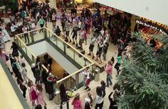 A Bavarian Flashmob In Munich
