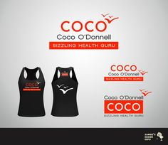 Create the next logo for Coco O'Donnell, Sizzling Health Guru by sAngiE