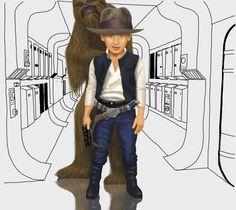 Un 13 de julio, Harrison Ford cumplía 9 años.