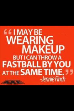 #softball very true, do this to my friends at school and they hate me for it... Oh well they'll get over it