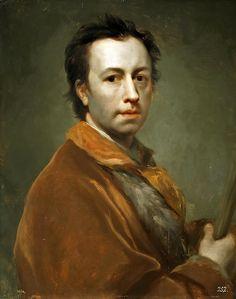 Self-portrait  Anton Raphael Mengs