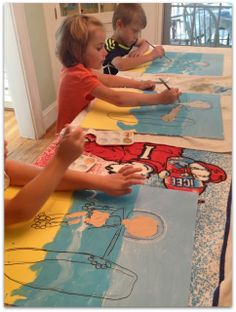 MagicMarkingsArt an artful blog about color and whimsy: Summer Art Camp Week Three