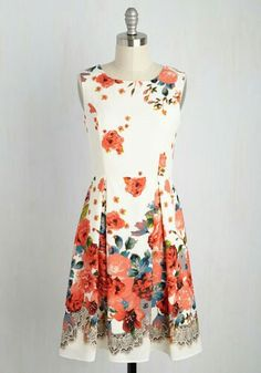 I Rest My Grace Dress in Garden Glamour by ModCloth.com