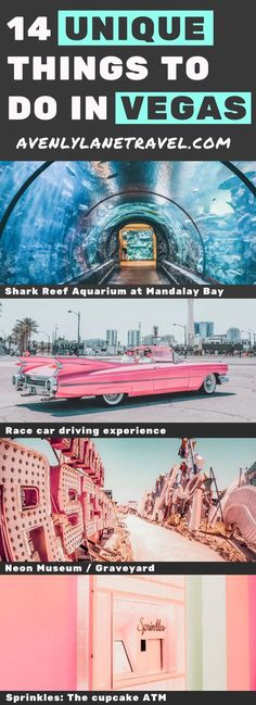 14 Unique things to do in Las Vegas! There are so many incredible places to see . - See-All Las Vegas Vacation, Visit Las Vegas, Las Vegas Nevada, Las Vegas Strip Hotels, Vacation Places, Dream Vacations, Vacation Ideas, Las Vegas Girls, Las Vegas Outfits