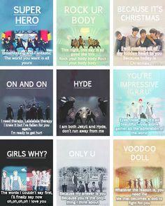 N , Leo ,Ken, Ravi , Hong Bin and Hyuk ♡ #VIXX // From Super Hero - Voodoo Doll