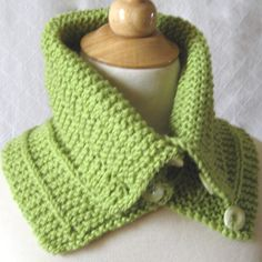 #Knitting_Pattern - Convertible Cowl / Capelet -- Easy to Knit and great to wear. Keeps those cold March winds off your neck and shoulders!