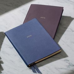 Featuring the same soft, supple, French calf leather used in our Dover Collection, once you start using this diary you will never look back.