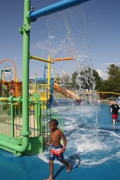 Water playground at The Colony Aquatic Park (The Colony, Texas)