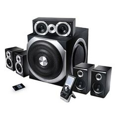 Edifier S550 5.1 Speakers 280 W RMS Sound System