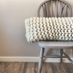 New cushions that I'm working on, thinking of adding them as a stock line on my website in a few colours, I love the chunky knit texture and nature, raw look of the wool. - hand knitted by Lauren Aston Desigsn