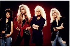 Vixen were written off as just an All-girl band , but soon proved that they could Rock out with the best of them! Rock N Roll, 80s Hair Metal, 80s Hair Bands, Idol, Women Of Rock, Glam Metal, Joan Jett, Heavy Metal Bands, Girl Bands