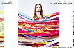 color magic | ITOKIN MUSEE | Web Design Clip
