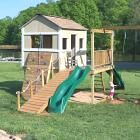 Ana White | Build a Playhouse Deck | Free and Easy DIY Project and Furniture Plans