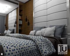 Sypialnia styl Nowoczesny - zdjęcie od TU Design - Sypialnia - Styl Nowoczesny - TU Design