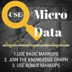 Curious about Micro Data for SEO?  https://www.leapfroggr.com/search-engine-optimization-strategies/