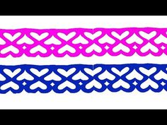 Paper Cutting How To Make Paper Cutting Border Design Easy Paper