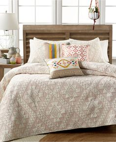 Martha Stewart Collection Canyonlands Twin Quilt - $99.99