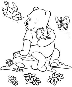 Winnie the Pooh Coloring Pages . 30 Winnie the Pooh Coloring Pages . Free Printable Winnie the Pooh Coloring Pages for Kids Valentine Coloring Pages, Bird Coloring Pages, Disney Coloring Pages, Printable Coloring Pages, Adult Coloring Pages, Coloring Pages For Kids, Coloring Sheets, Coloring Books, Mandala Coloring