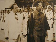 Josip Broz Tito and Muammar Muhammad Abdassalam Abu Minyar al-Gaddafi, Yugoslavia