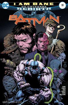 BATMAN EL CABALLERO OSCURO: BATMAN REBIRTH # 19 (ENGLISH)