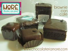 Brownies con café! Brownies, Desserts, Food, Tent, Recipes, Meal, Deserts, Essen, Hoods
