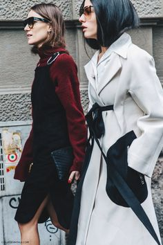 Giorgia Tordini and Gilda Ambrosio by Collage Vintage