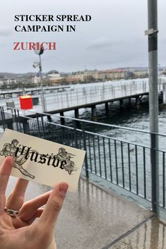 Illusive Worldwide - Art combined with today's thougts. Travel Around The World, Around The Worlds, Zurich, We The People, Campaign, Sticker, Community, Instagram, Stickers
