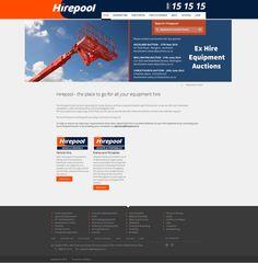 HirePool navigation