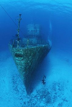 Cozumel Mexico Wreck Dive Felipe Xicotencatl - Also known as the C-53. Come dive it with us!  June 16-23, 2013