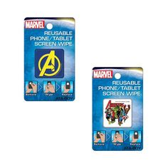 Avengers Reusable Phone/Tablet Screen Wipes