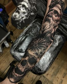 50 Badass Forearm Tattoos For Men - Cool Masculine Design Ideas 3d Tattoos For Men, Best 3d Tattoos, Badass Tattoos, Cool Tattoos, Tattoo Pics, Tattoos Arm Mann, Skull Tattoos, Tatoos, Tattoo Sleeve Designs