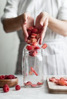 Raspberry Rhubarb
