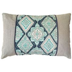 Kim Salmela Tulum 16x24 Outdoor Pillow Tan Decorative Pillows ($125) ❤ liked on Polyvore featuring home, outdoors, outdoor decor, outdoor patio decor, patio decor and outdoor patio pillows