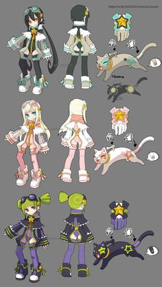 DragonNest Costume design-Academic by ZiyoLing.deviantart.com on @deviantART