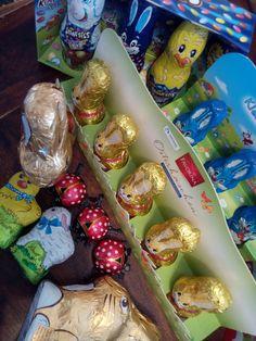 Plastikfrei verpackte Osterleckereien Zero Waste, Aluminium Foil, Easter Bunny, Treats, Packaging, Easter, Life