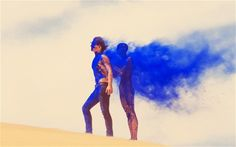 Tyler Shields' collaboration with Sony, 'The Science of Colour'