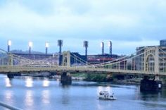 PNC Park in Pittsburgh, The Bayland House was there to run