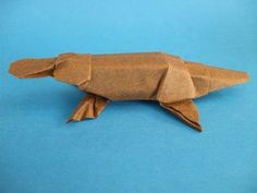 Ornitorrinco (Platypus)   El arte del Origami