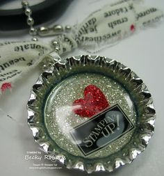 Inking Idaho: Soda Pop Top Scissor Charms. I love her ideal. I will have to give this a try. Thanks