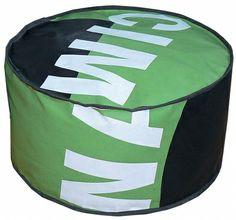 Bâches publicitaires en PVC recyclées   Un je ne sais quoi Déco