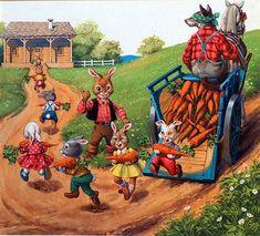 Brer Rabbit (Original) by Henry Fox at The Illustration Art Gallery