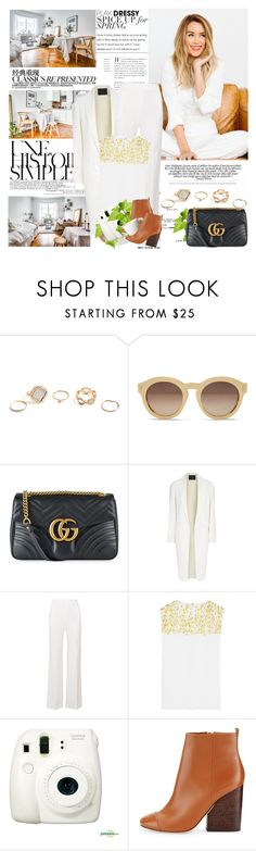 """""""Happy Birthday Lacas!"""" by mars ❤ liked on Polyvore featuring GUESS, STELLA McCARTNEY, Gucci, Chanel, Une, Alexander Wang, Roland Mouret, Giambattista Valli, Fujifilm and Tory Burch"""