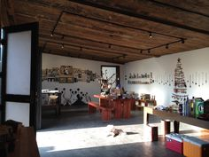 Main room at Cactus Gallery. Nov/Dec 2014.