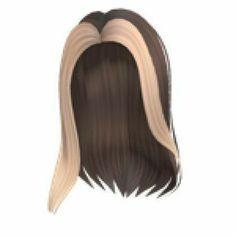 Blonde Hair Roblox, Brown Hair Roblox, Black Hair Roblox, Pelo Popular, Popular Girl, Cute Blonde Hair, Brown Blonde Hair, Brunette Aesthetic, Cute Black Shirts