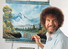 You can now watch 70 complete episodes of Bob Ross'