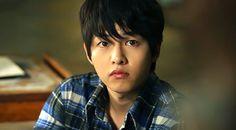 Song Joong Ki as Cheul Soo at A Werewolf Boy movie