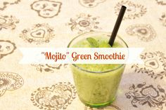 - Altro smoothie verde, questa volta più leggero e dietetico, ma sempre super! Mela, cetriolo, menta e lime! - Wonderful green smoothie, light and tasty! Apple, cucumber, lime and mint. :D