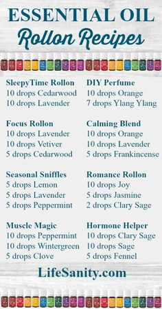 Roll on recipes using Young Living Essential Oils. Receive a FREE reference guide, support, and more when you order a Premium Starter Kit at www.EssentialOilsObsessed.com/Premium-Starter-Kit                                                                                                                                                      More